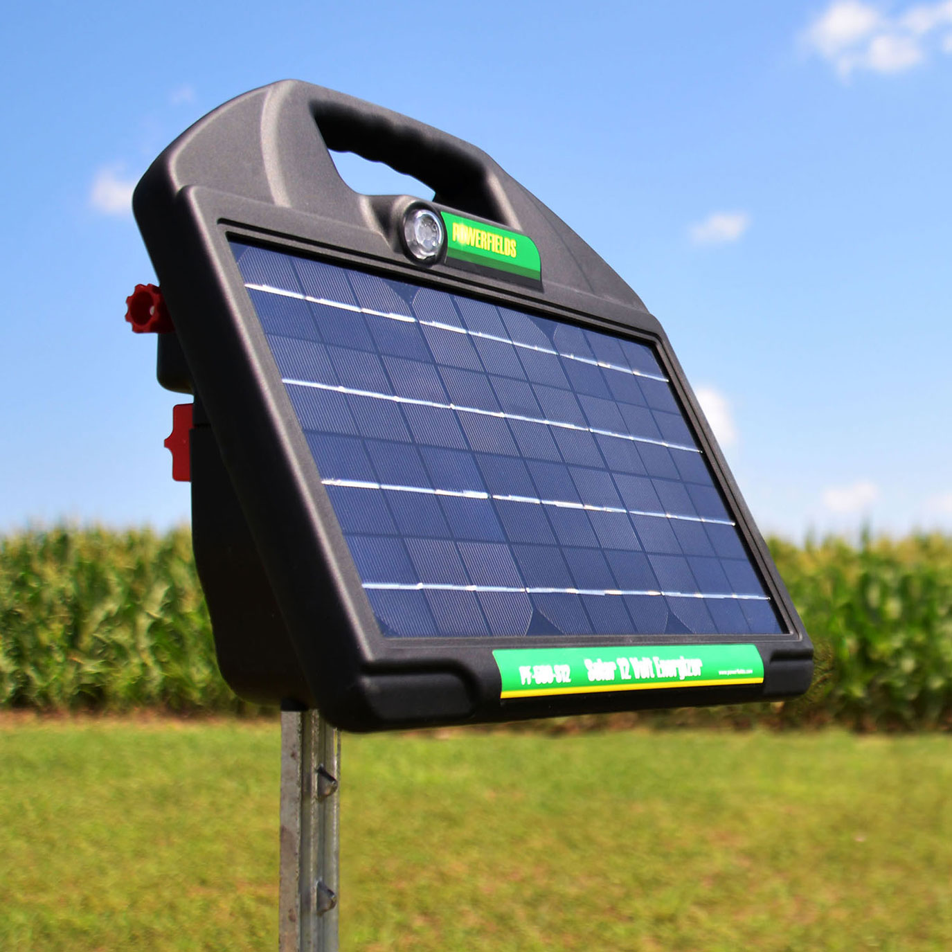 Solar Powered Fence Chargers - POWERFIELDS - High Quality