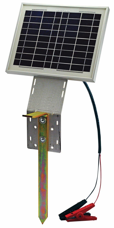 10 watt Solar Panel w/ Ground Stake - POWERFIELDS - High