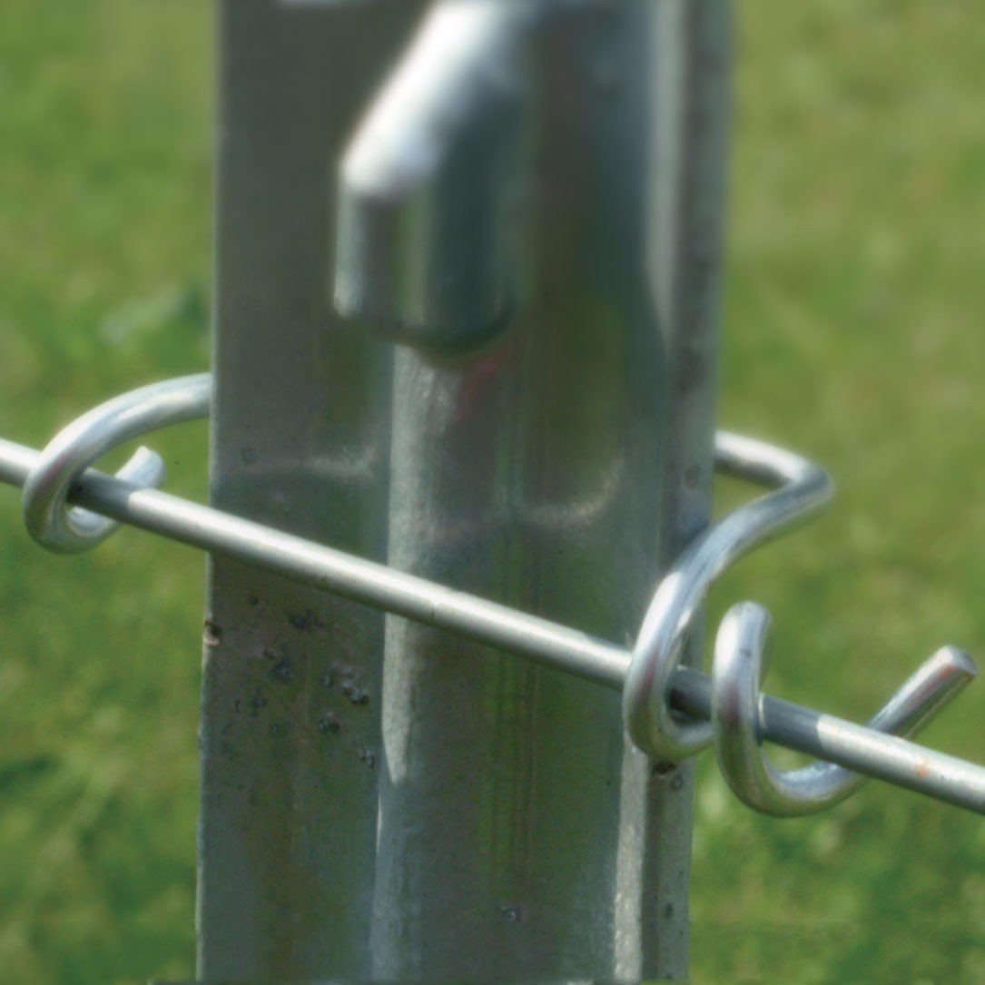 T Post Wire Clips Powerfields High Quality Electric Fence